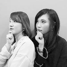 八木克子 × 岩川奈瑠美